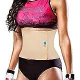 #7: Women's Post Pregnancy Abdominal Stomach Binder Support Belt Body Shaper Shapewear Waist Cincher (Beige) (X-Large: 95-100cm)
