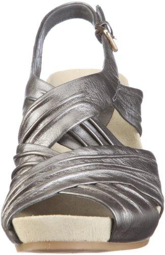 Earth Earthies Capri 5300002, Sandales femme Argent - Silber/Silber