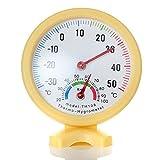 Woopower Mini-Zeiger-Thermometer, Hygrometer, Temperatur, Luftfeuchtigkeitsmesser für drinnen und draußen, Analog-Monitor, Babyzimmer, Gewächshaus, Restaurant, Klassenzimmer, Labor, Werkstatt