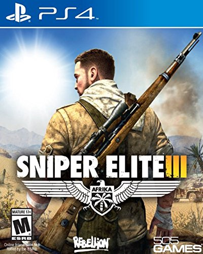 Sony Sniper Elite 3, PS4 PlayStation 4 videogioco