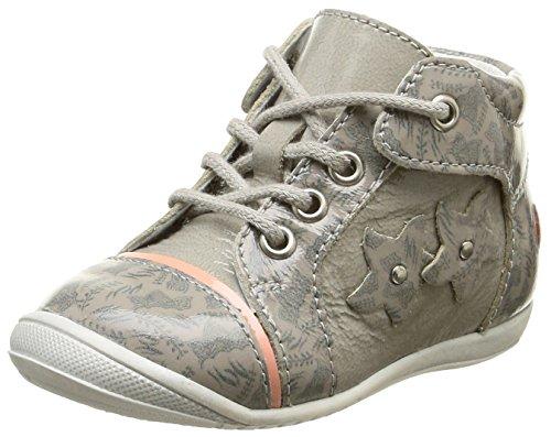 GBB Nicole, Chaussures Premiers Pas Bébé Fille, Noir (11 VTE Noir/Zébra DPF/Kezia), 22 EU