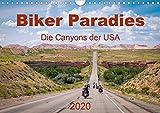 Biker Paradies - Die Canyons der USA (Wandkalender 2020 DIN A4 quer): Ein Traum wird war - Die...