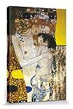 1art1 57203 Gustav Klimt - Die DREI Lebensalter Der Frau, Detail Leinwandbild Auf Keilrahmen 120 x 80 cm