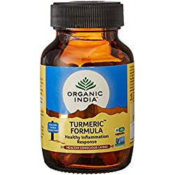 Organic India Turmeric Bottle - 60 Capsules