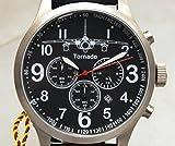 IMC® Fliegeruhr -Tornado- Aviator Chronograph Edelstahl Armbanduhr - Sonderedition