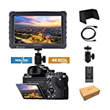 Schwarz Lilliput A7s 7-inch 1920x1200 HD IPS Screen 500cd/m2 Camera Field Monitor Kamera Feldmonitor Feld monitor 4K HDMI Input output Video For DSLR Mirrorless Camera SONY A7 A7R A7S II A6300 A6500 Panasonic GH4 GH5 Canon 5D Mark IV 6D 7D 70D 80D NIKON DF D800 D810 DJI Ronin M