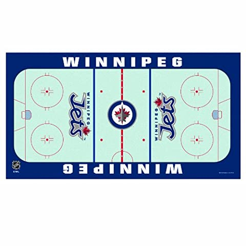 NHL Winnipeg Jets 28-by-52 Inch Floor Mat