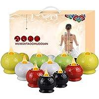 XIHAA Keramik-Vakuum-Schröpfen-Therapie-Set, Schröpfen Vakuum-Saug 10 Tassen-Sets Für Cellulite Schröpfen Massage... preisvergleich bei billige-tabletten.eu