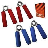 2 x Fingertrainer DEXTEROUS in 2 verschiedenen Stärken von BB Sport mit Anwendungsbroschüre