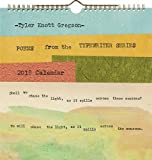 Telecharger Livres Tyler Knott Gregson Poems from the Typewriter Series 2018 Calendar (PDF,EPUB,MOBI) gratuits en Francaise
