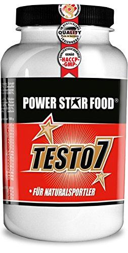 TESTO 7 hochdosierter Testosteron Booster, für Männer ideale Kombination mit Zink zur Unterstützung des Testosteron-Spiegels - veganes Testosteronmanagement, Dose 120 pflanzliche Kapseln