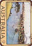 PotteLove Sydney Hafen Australien Vintage Metall Schilder 20,3x 30,5cm