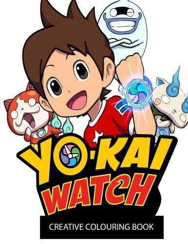 Yo-Kai Watch Creative Colouring Book: DS, Creative, Kids, Children, Manga, Anime, colouring, Thanksgiving, Activity, Book, Nintendo Ds, Game, Games, Fun