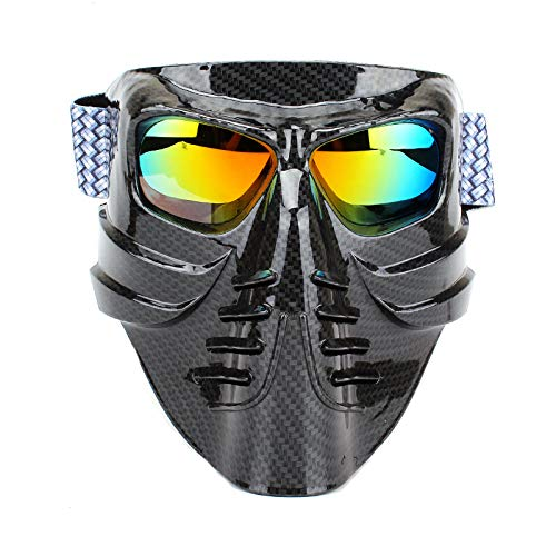 kamier Radbrille Motorradbrille sanddicht Cross Country Sport Staubmaske schwarz
