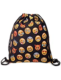 Tskybag niños niñas adolescente cordón bolsa de mochila escolar mochila bolso hombro bolsa bolsa de deporte