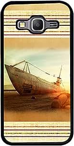 PrintVisa Travel Beach Boat Case Cover for Samsung Galaxy Core Prime