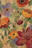 Toland Home Gartenflagge Mohnblumen und Lilien, 31,8 x 45,7 cm, dekorative Mohnblume, Lilienblume