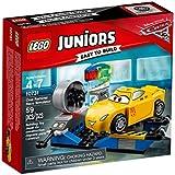 LEGO - 10731 - Juniors - Jeu de Construction - Le simulateur de course de Cruz Ramirez