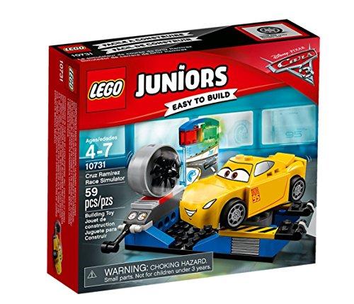 LEGO 10731 - Juniors, Il Simulatore di Cruz Ramirez