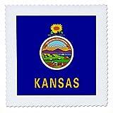 3drose QS _ 158346_ 5Flagge von Kansas US American