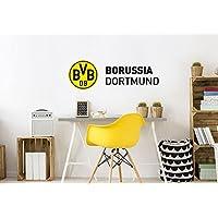 Wandtattoo - BVB Schriftzug mit Logo - 60x20 cm - Art. Nr. BVB10062 - Wall-Art