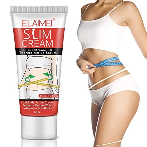 Slimming Cream, Abnehmenstraffung Creme Slim Massage Creme Schlankheitscreme Eng formender Körper Gewichtsverlust Anti-Cellulite