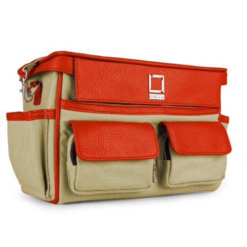lencca-coreen-raw-beige-orange-camera-bag-for-panasonic-lumix-cameras