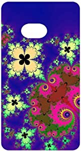 Fractal Pattern Back Cover Case for HTC One