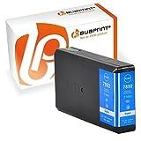 Bubprint Druckerpatrone kompatibel für Epson T7892 für WorkForce Pro WF-5100 Series WF-5110DW WF-5190DW WF-5600 Series WF-5620DWF WF-5690DWF Cyan