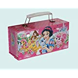 Artbox Password Protected Princess Design Jewellery Box For Girls - Multi Color