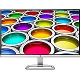 HP 27ea X6W32AA 68,58 cm (27 Zoll) Monitor (Full HD, IPS, HDMI) silber/weiß