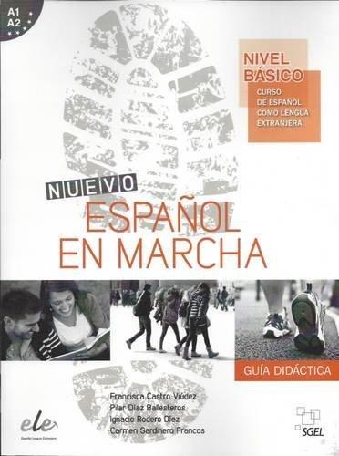 Nuevo Espanol en Marcha: Nivel Basico A1 + A2: Tutor Book: Curso de Espanol Como Lengua Extranjera by Francisca Castro Viudez (August 01,2014)