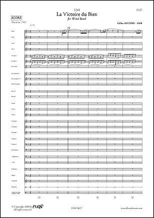 Descargar Libro PARTITURA CLASICA - 1244 - La Victoire du Bien - G. ARCENS - Wind Band de Unknown