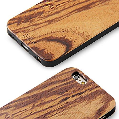 iPhone 6S Schutzhülle, iPhone 6Holz Fall, Belk 2nd Gen Flex Hybrid [leicht Sony] Hartholz Fällen mit Dura BLE verstärkte PC Kissen für iPhone 6S/iPhone 15,2–11,9cm, Holz, Bocote, iPhone 6 Plus / iP Bocote