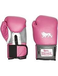 Lonsdale Mujer jab Guantes de boxeo, todo el año, mujer, color rosa/Grau, tamaño 237 ml