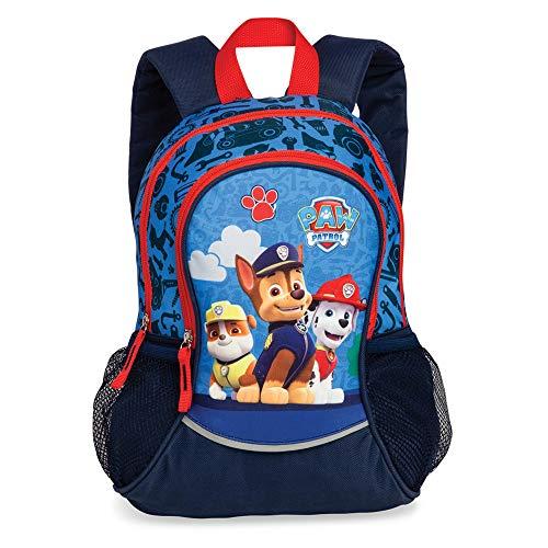 Fabrizio 20562 Kinder Jungen Rucksack 'Paw Patrol' aus Textilmaterial Motiv, Groesse OneSize, blau (Disney-rucksäcke Jungen Für)