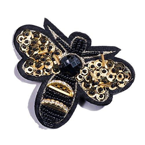 iKulilky Strass Kristall Honigbiene Insekt Brosche Pin Anhänger Cute Fashion Schmuck