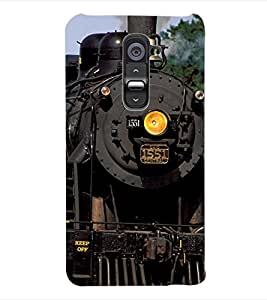 ColourCraft Train Back Case Cover for LG G2