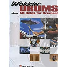 Hans B Workin' Drums 50 Solos Drums Book