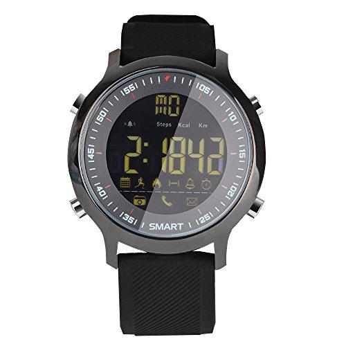 LYXLQ Fitness Tracker, Smart Watch Bluetooth Telefon Informationen Push Sports Smart Watch Power,D