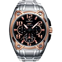 Viceroy 47625-95 - Reloj para hombres, correa de acero inoxidable