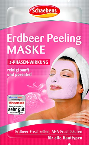 Erdbeer-peeling (Schaebens Erdbeer Maske, 10er Pack (10 x 12 ml))