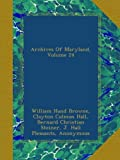 Archives Of Maryland, Volume 24