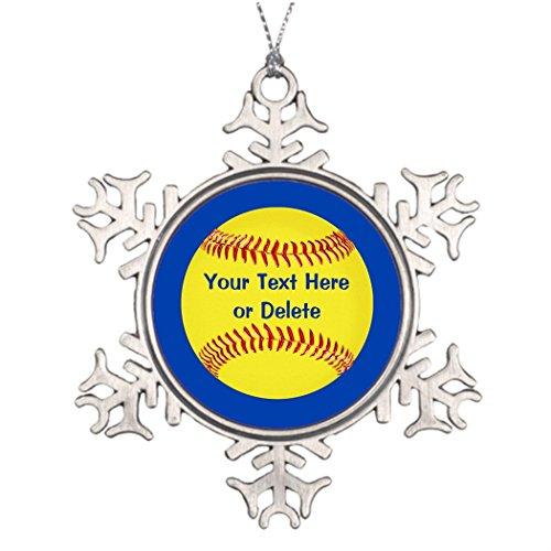 GERLY burn Weihnachtsbäume dekoriert, günstiger Softball Party Favor Mädchen Softball Party Weihnachtsmann Dekorationen Softball Goodie