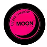 Moon Glow - UV Neon-UV-Lidschatten 3.5g Rosa - ein spektakulär glühender Effekt bei UV- und Schwarzlicht!
