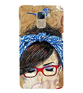 Vizagbeats sparrow on head Back Case Cover for Huawei Honor 7