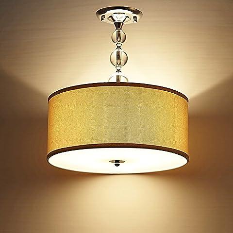 APSD-Iluminación cálida Moderno, minimalista, LED techo lámparas, dormitorio, comedor, cristal, jardín, entrada hall, estudio, (45 * 52cm)