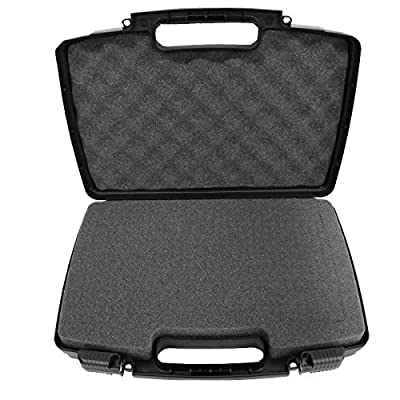 CASEMATIX Customizable Mini Drone Case For RC Quadcopters under 19cm – Holds Syma X20, EACHINE E58, Holy Stone Predator Mini HS170, Parrot Airborne Night and More with Drone Accessories from CASEMATIX