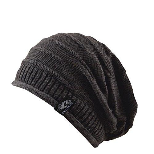 CHILLOUTS Erwachsene Mütze Erik Hat, Grey, One Size, 3562