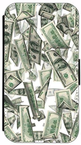 Flip Cover für Apple iPhone 6 / 6S (4,7 Zoll) Design 573 Frosch in rotem Kleid mit Handy Grün Funny Cartoon Hülle aus Kunst-Leder Handytasche Etui Schutzhülle Case Wallet Buchflip mit Bild (573) 562
